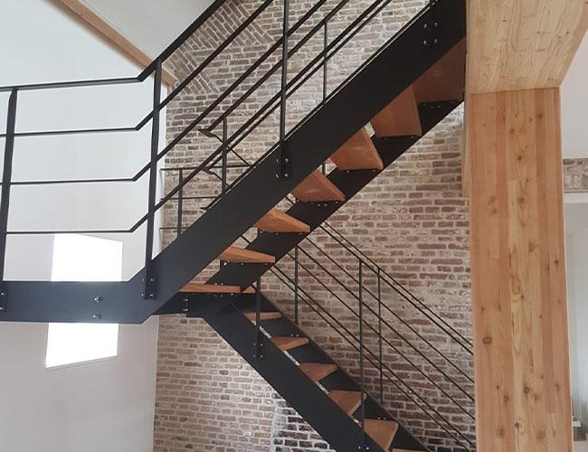 Metalen trappen